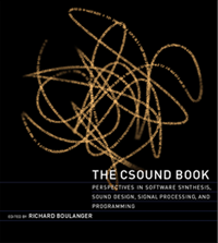 Cover The Csound Book