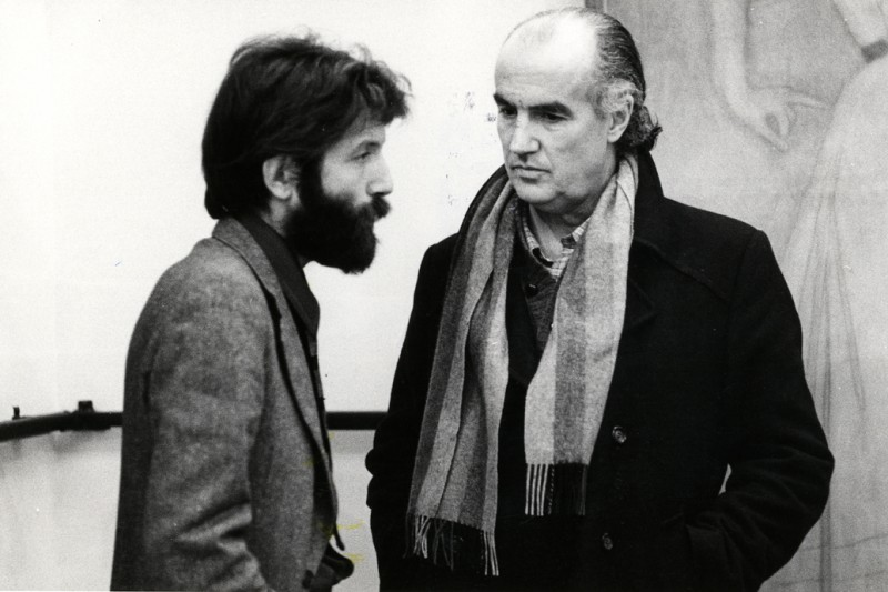 Massimo Cacciari e Luigi Nono, Venezia 1983.