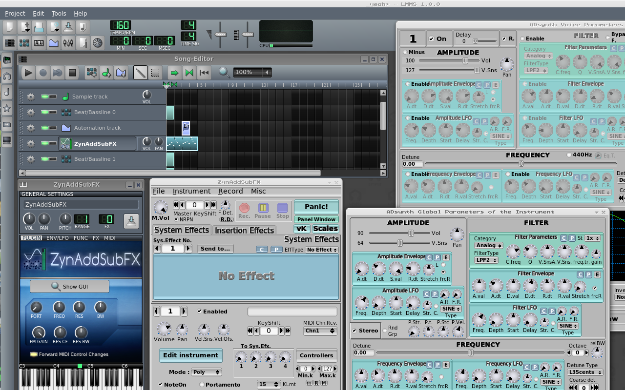linux-multimedia-music-studio-screenshot-with-the-zynaddsubfx-synthesizer
