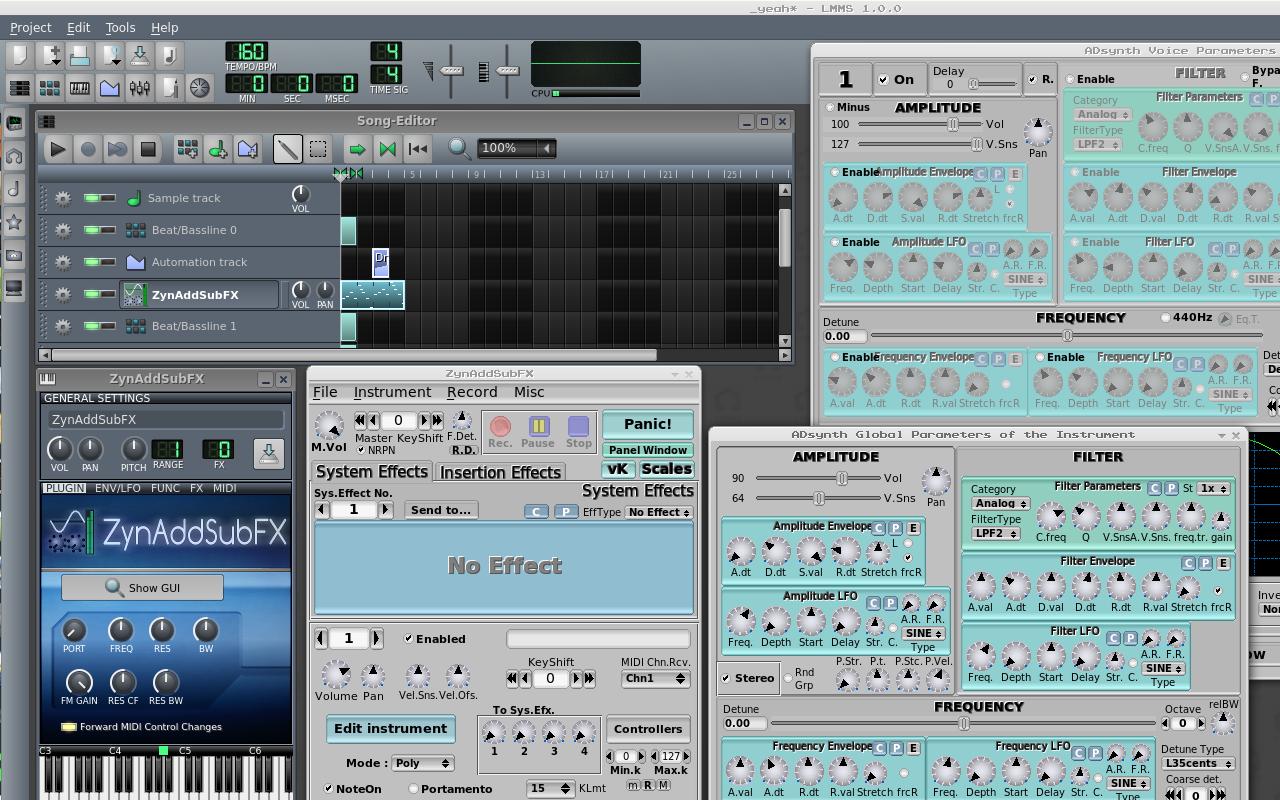 linux-multimedia-music-studio-screenshot-with-the-zynaddsubfx-synthesizer